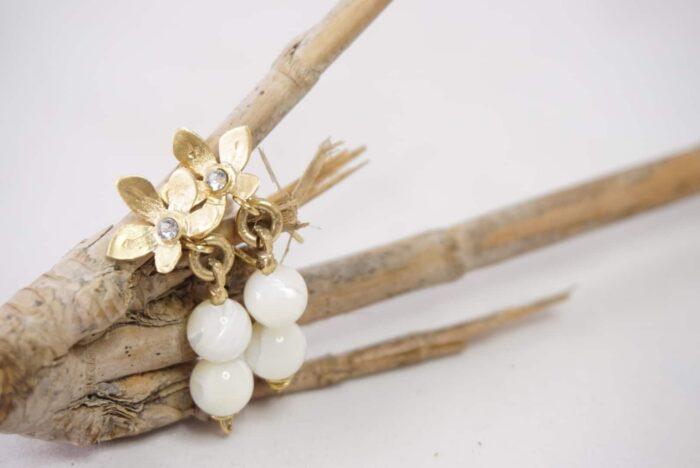 pendientes-de-flores-edelweiss